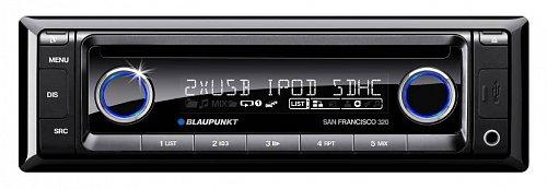 Nové autorádio Blaupunkt San Francisco 320 disponuje celou řadu funkcí včetně Bluetooth.