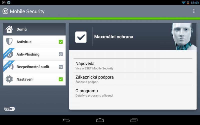 ESET Mobile Security ochrání váš Android