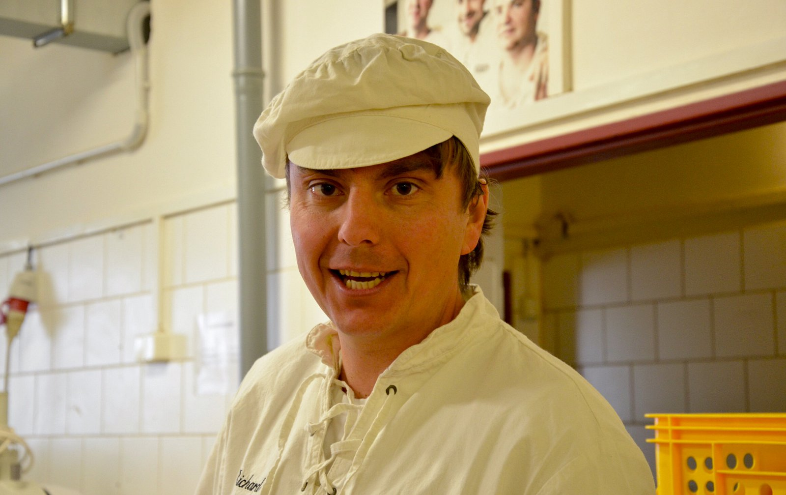 Na návštěvě v pekárně Kabát