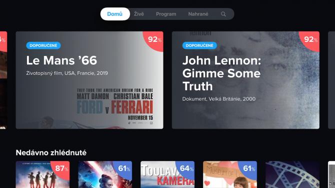 [aktualita] Foto: Telly mění grafiku své aplikace pro Apple TV