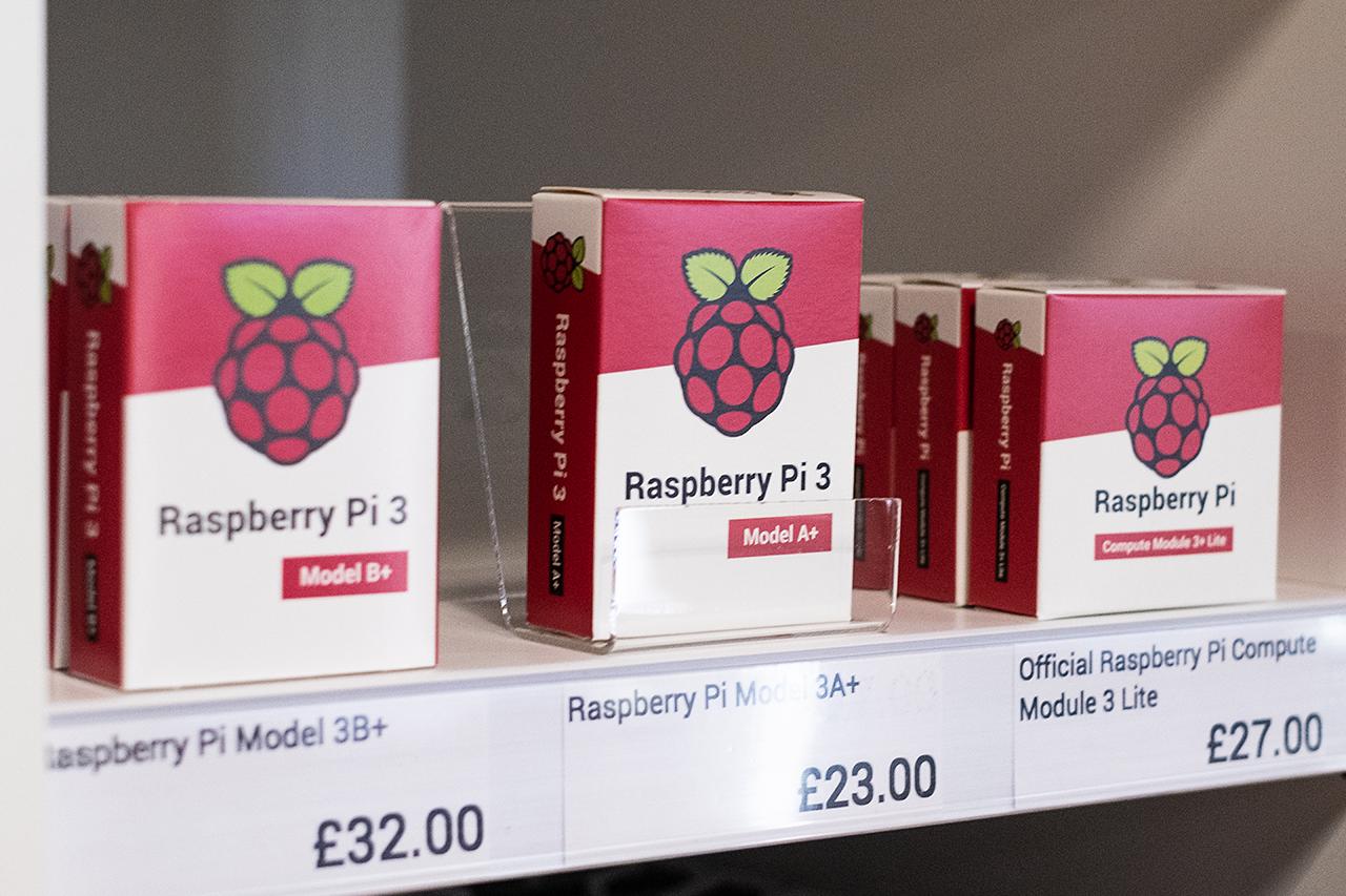 První kamenný obchod Raspberry Pi