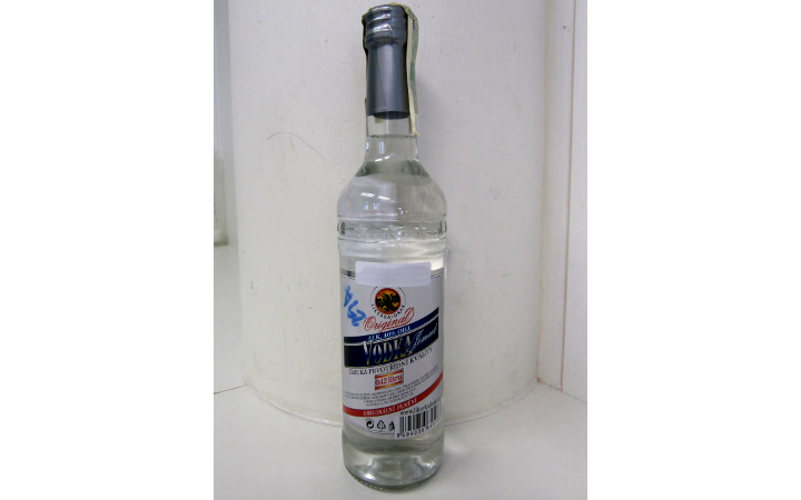 Závadný alkohol - etikety lahví