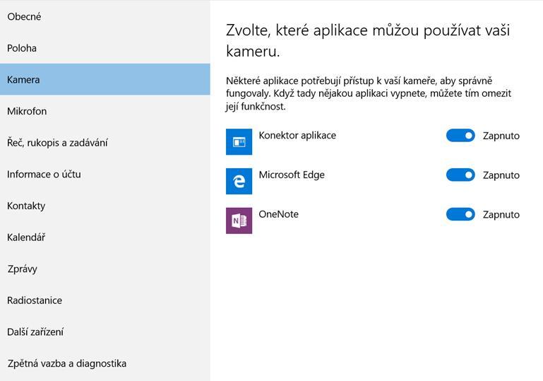 Konfigurace Windows 10