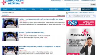 DigiZone.cz: Euro.cz spouští webovou Medical TV