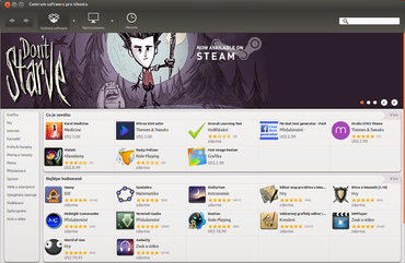 Centrum softwaru pro Ubuntu: programy i hry jako na dlani