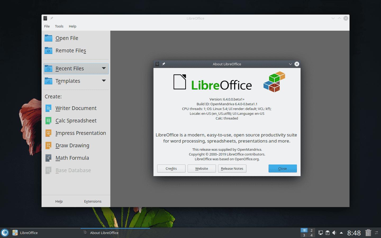 OpenMandriva 4.1 Beta