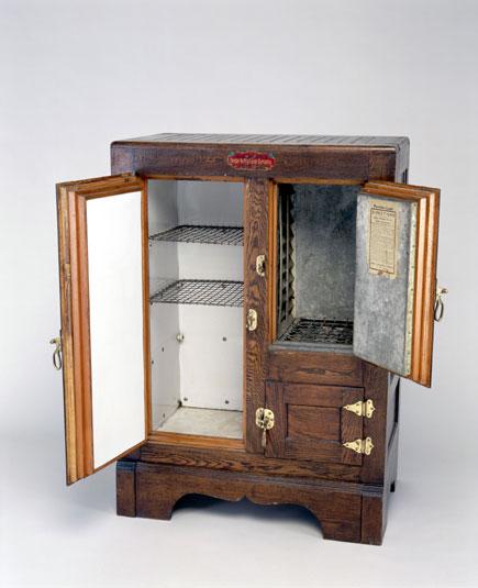 Sifonová lednička, 1900, USA