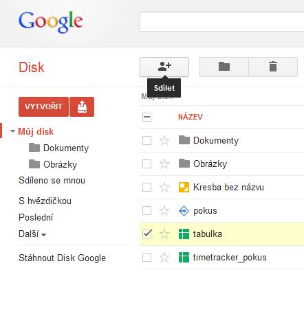 google-drive_sdílení