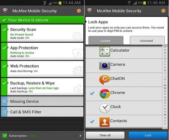 McAfee Antivirus & Security