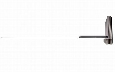 """Kdyby LG Signature OLED 77G6P viděla moje """"pod blanická"""" babička, nepochybně by řekla, že je jako z kozy duch. Teď už jen chybí, aby někdo přišel se solidním bezdrátovým propojením elektroniky a obrazovky a přenesením elektrického proudu..."""