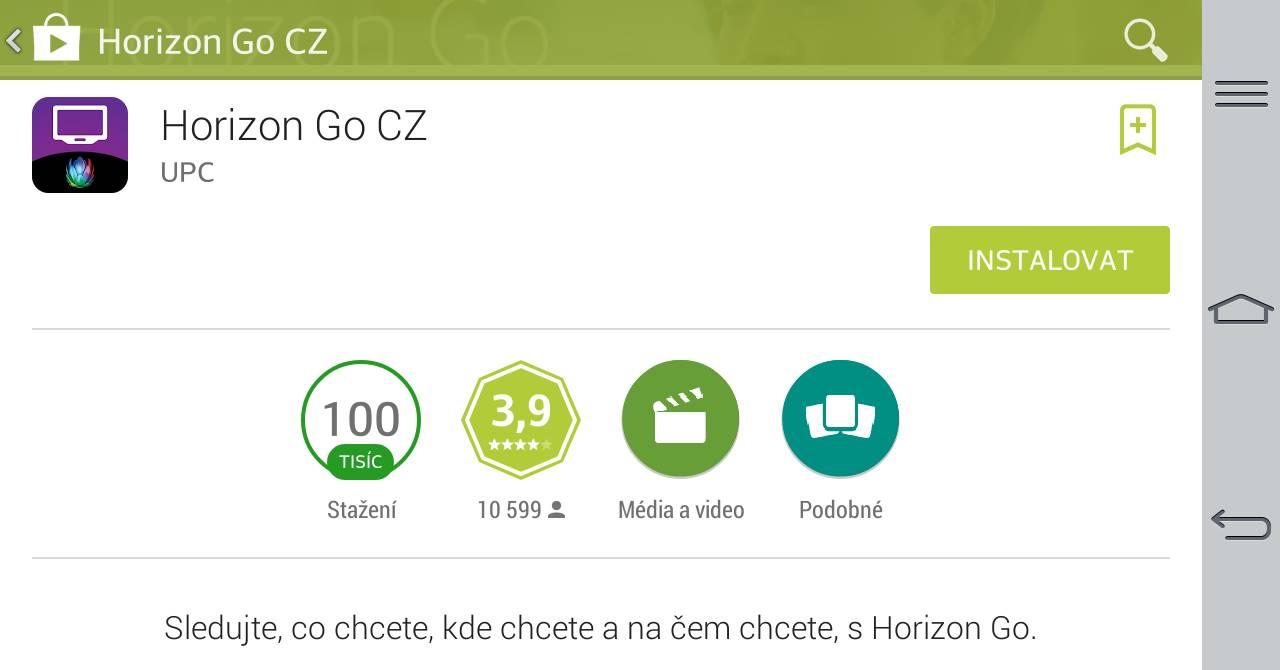 Fotogalerie: UPC Horizon Go - Instalace - Lupa.czUpc Horizon Go Cz