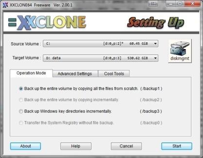 Pomocí XXCLONE snadno přesunete data na nový disk