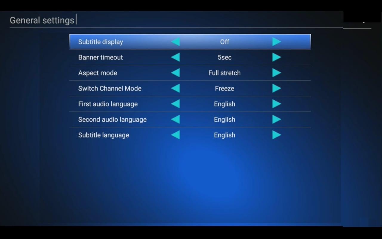 DTV preference