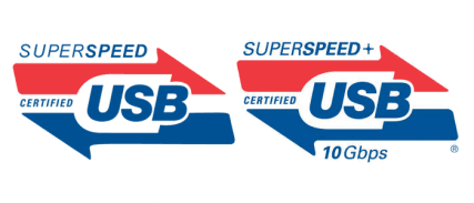 USB superspeed logo