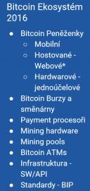 Bitcoin Ekosystém 2016.