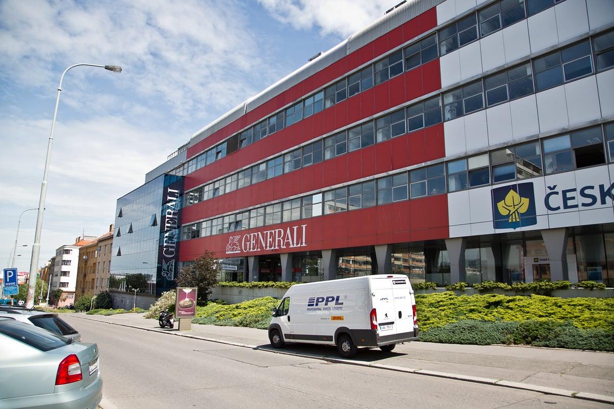 EA1 - sídlo