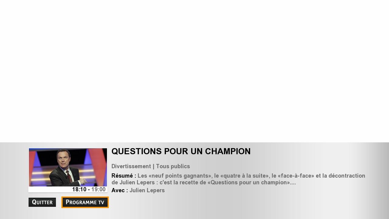 Hybridní vysílání veřejnoprávní televize France 3