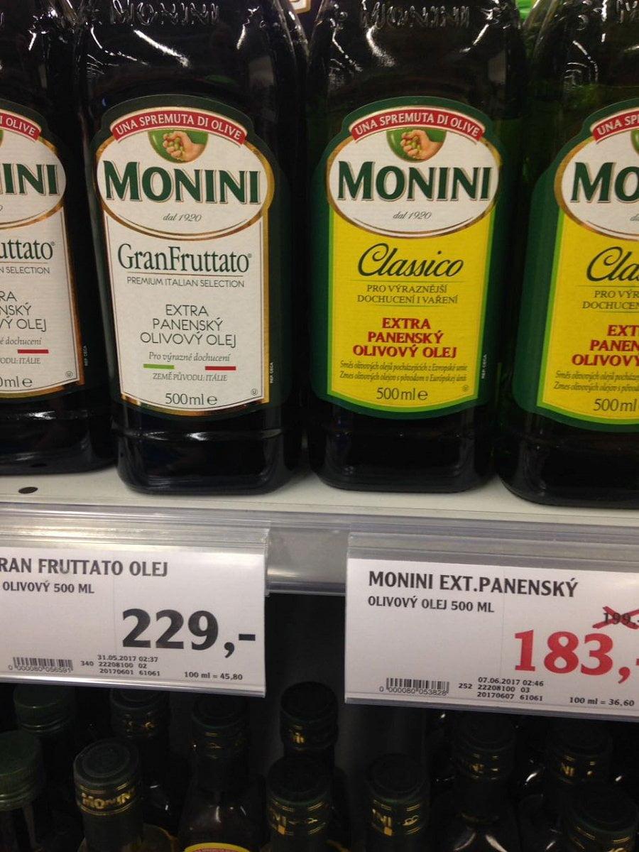I olivové oleje se míchají jako med
