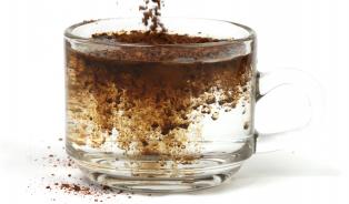 Instantní kávové směsi 2v1nebo 3v1: cukr, bělidla aéčka