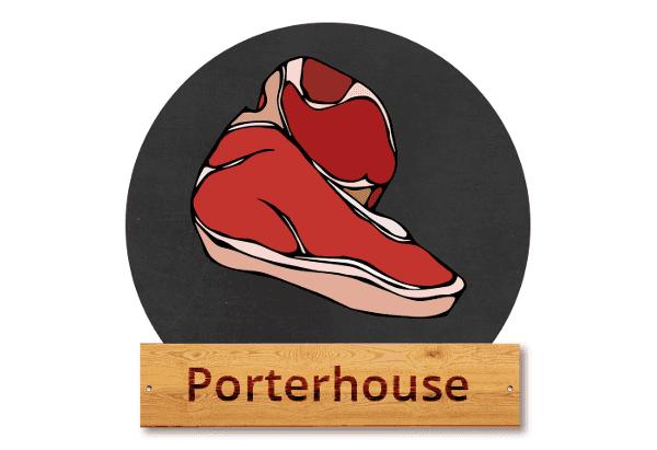 "Porterhouse: ""Dvojitý král steaků"""