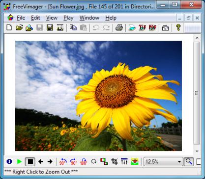 FreeVimager je editor a prohlížeč obrázků nabitý funkcemi, umí exportovat do PDF