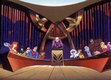 Předlohou pro název Legion of Doom byl komiks Justice League a animovaný seriál Challenge of the Superfriends.