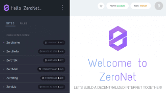 ZeroNet: decentralizovaný web běžící přes BitTorrent