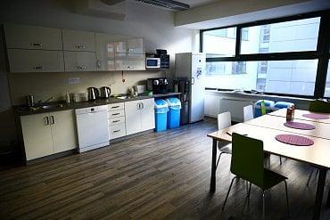 Kuchyňka.