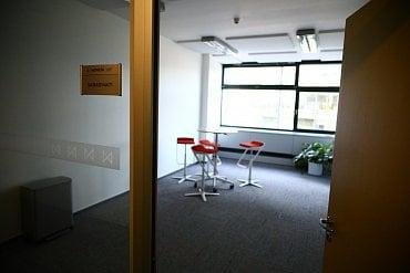 Zasedací místnost.