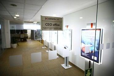Vstup do prostor kanceláří CEO.