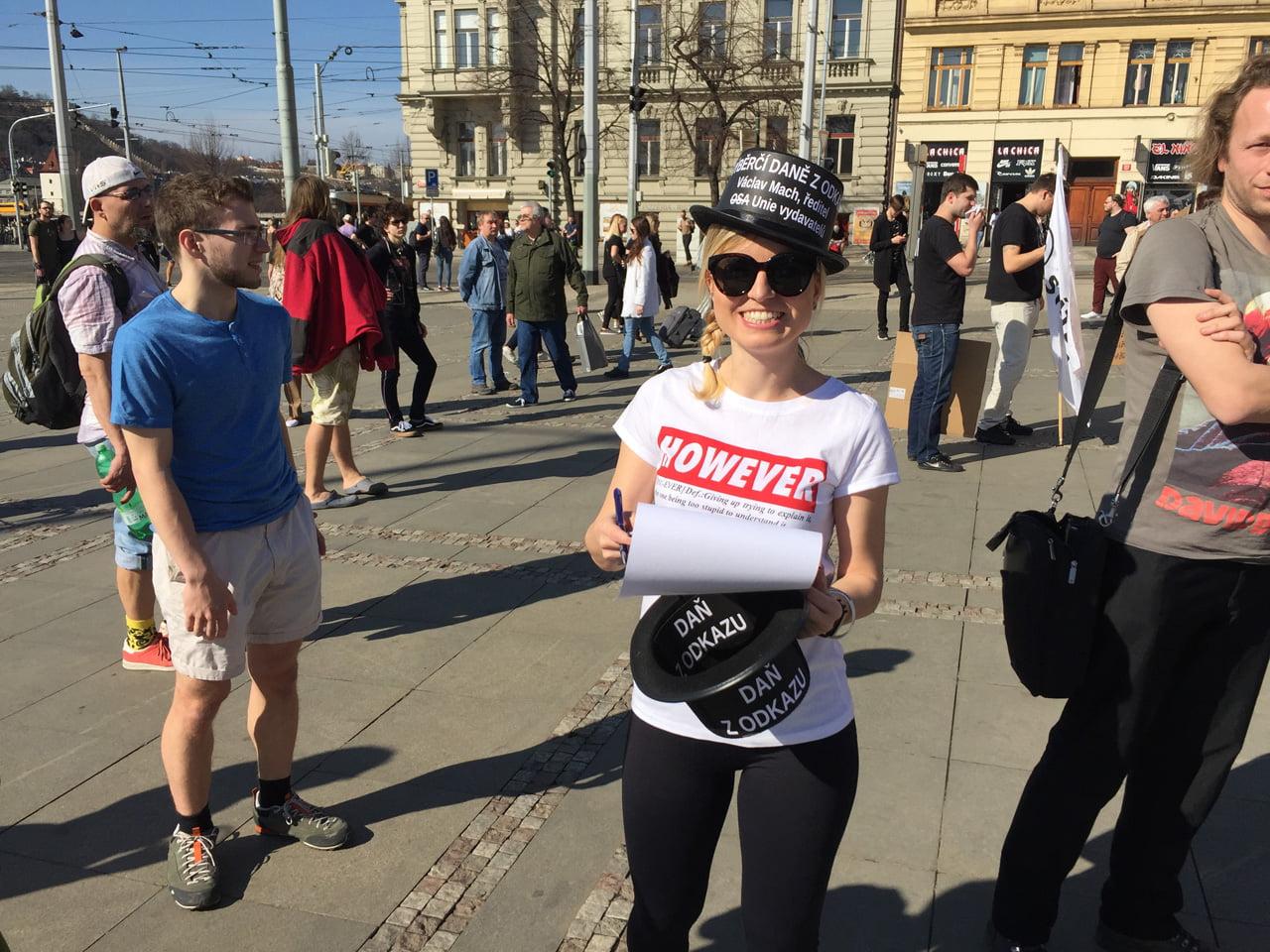 Demonstrace proti článkům 11 a 13 (Praha, 23. března 2019)