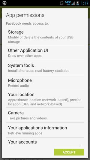 povolení pro aplikace