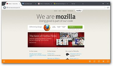 "Firefox pro Windows 8 ""Metro"""