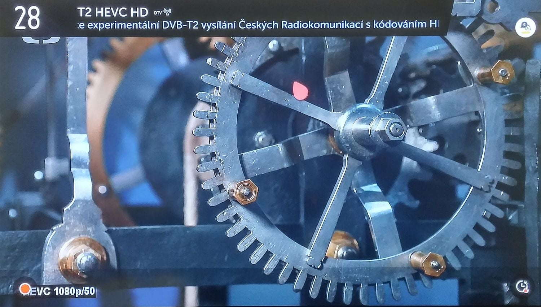 LG Signature OLED - test DVB-T2 HEVC, ČRa