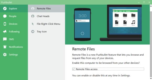 Aplikace Pushbullet nyní disponuje funkcí Remote Files, která umožňuje vzdálený přístup k vašemu počítači