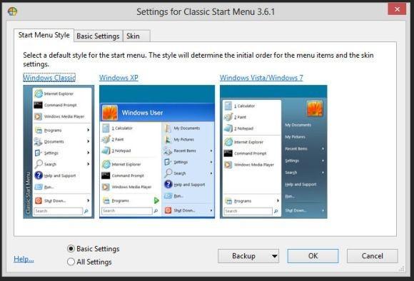 Nástroj Classic Shell přetvoří nabídku Start z Windows 8 přesně podle vašich představ