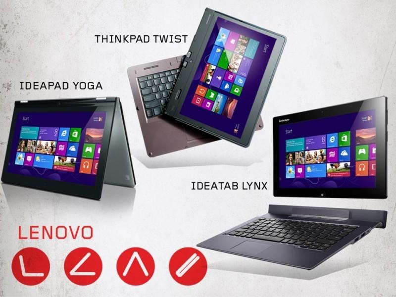 Lenovo hybrid ultrabook, tablet, yoga, ideapad, thinkpad, ideatab