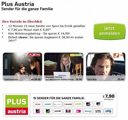 Základní programovou nabídku v Rakousku lze při běžně ceně pořídit za necelých 10 euro, při slevě dokonce za 8 euro.