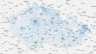 Root.cz: CETIN má novou interaktivní mapu pokrytí a rychlostí