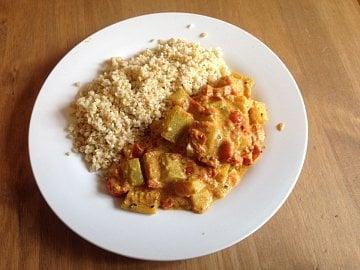 Zkuste rychlé curry, kde hlavní roli hraje kalabasa