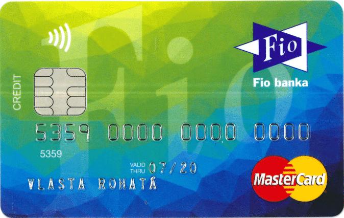kreditní karta masáž kondom