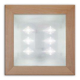 Kompletní svítidlo Ledeos Home se šesti LED diodami je vyráběné v Česku s použitím amerických LED diod Cree.