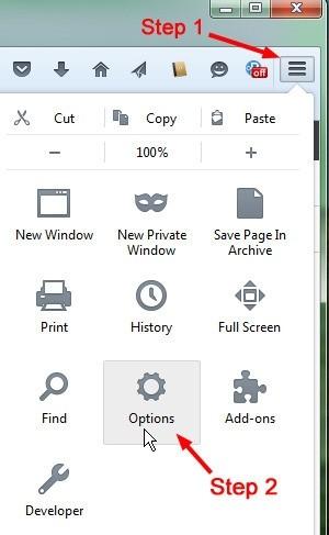 Otevírání e-mailových odkazů ve webovém rozhraní ve Firefoxu