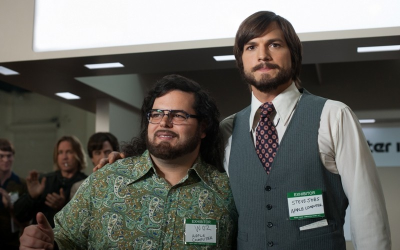 Steve Jobs a Steve Wozniak ve filmu Jobs