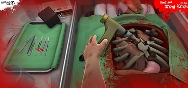 Surgeon Simulator 2013 - obrázky k recenzi