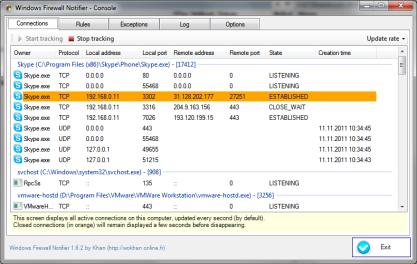 Windows Firewall Notifirer rozšíří možnosti systémového firewallu Windows