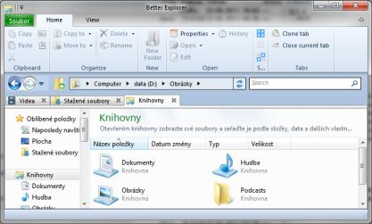BExplorer přináší do Průzkumníku Windows ribbon