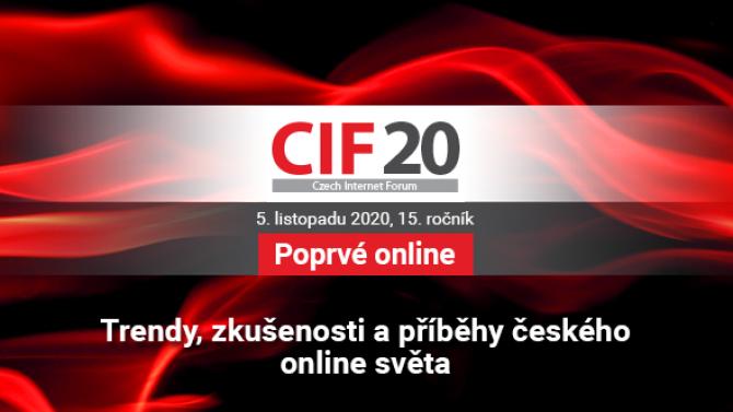 [článek] Na #CIF20 vystoupí řečníci zEvropského parlamentu, Seznamu, DVTV nebo MALL.TV