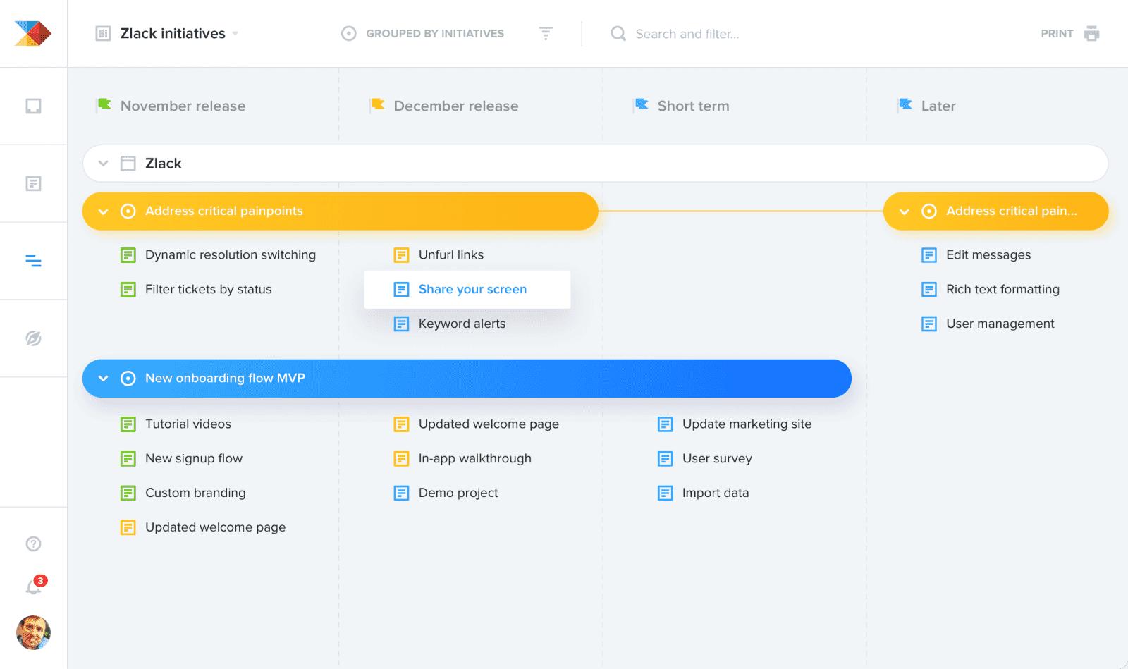 Jak vypadá česká SaaS aplikace ProductBoard