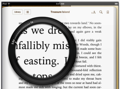 Apple iPad Retina displej